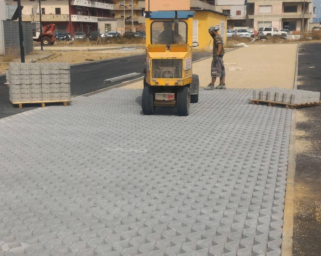messa in opera masselli autobloccanti, posa in opera, posa in opera pavimentazione, posa in opera pavimenti autobloccanti