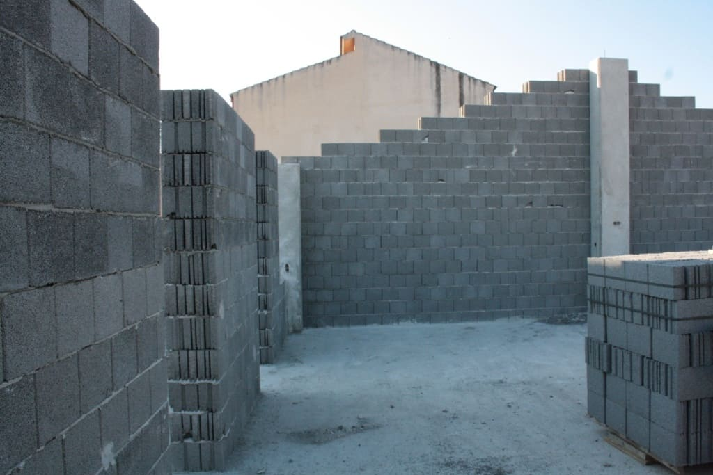 blocchi in cemento, blocchi faccia vista, blocchi intonaco, blocchi farben, blocchi calcestruzzo, blocco isolamento, blocco isolamento termico